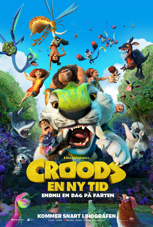 CROODS - EN NY TID filmplakat