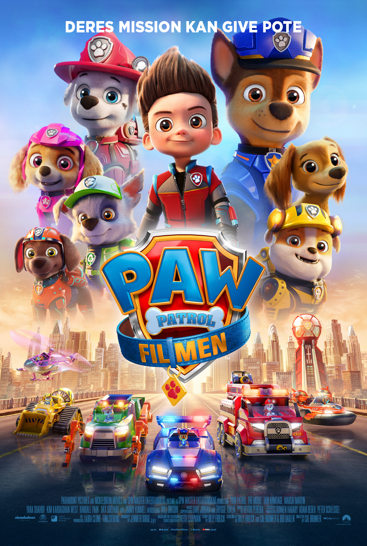PAW PATROL filmplakat