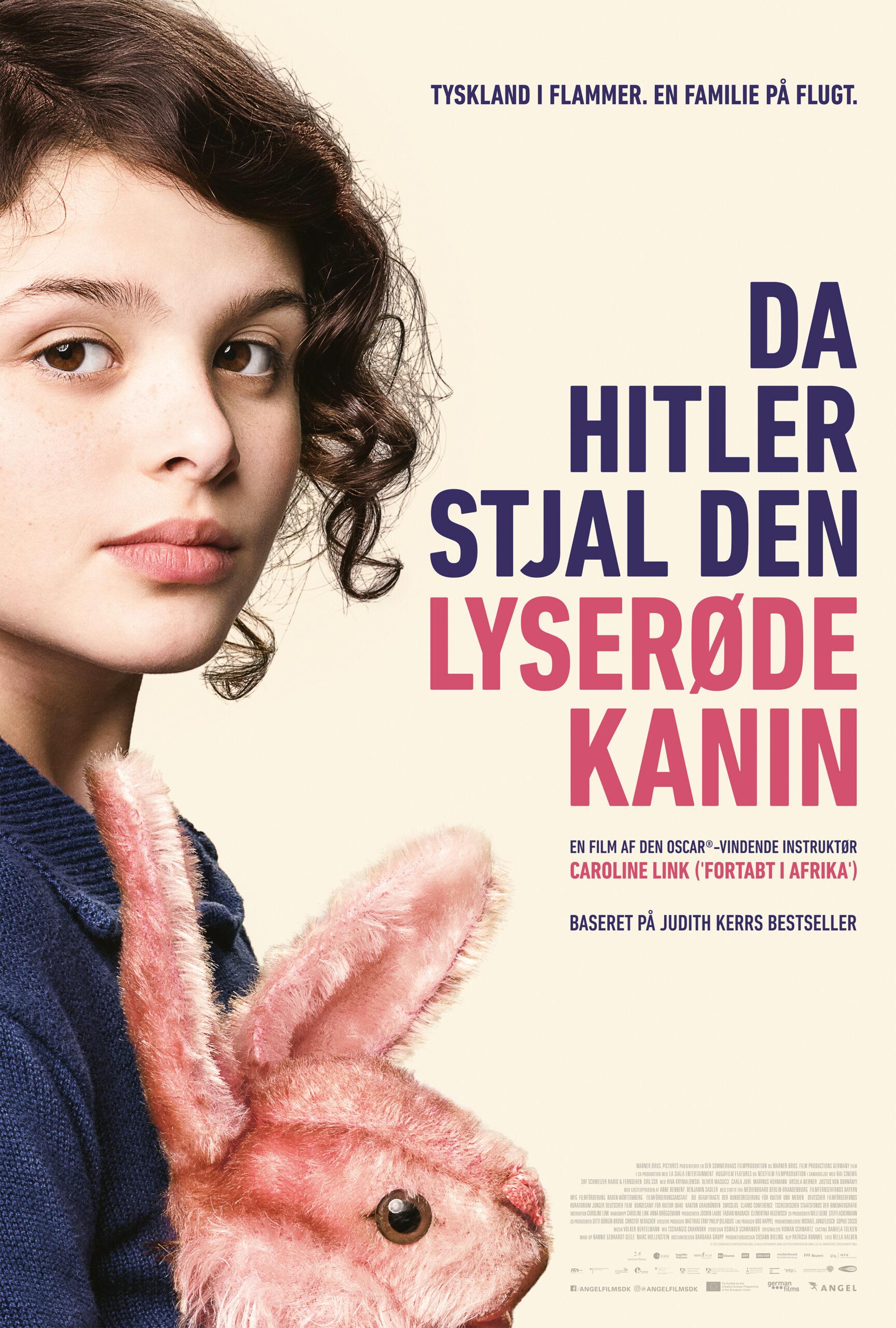 DA HITLER STJAL DEN LYSERØDE KANIN filmplakat